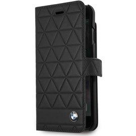 BMW BMW Originele Hexagon Folio Bookcase Hoesje voor de Apple iPhone 6 / 6S / 7 en 8 - Zwart