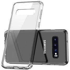 Ntech Ntech Samsung Galaxy S10e Flexibel Hard Case Crystal Clear TPU Hoesje - Transparent