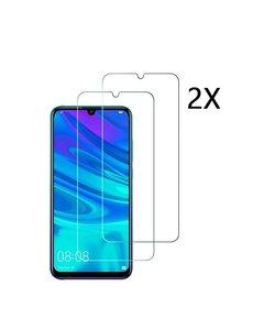 Ntech Ntech 2 Stuks Screenprotector Tempered Glass Glazen Screenprotector voor Huawei P Smart Plus (2019)