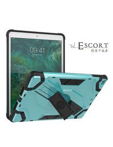 Ntech Ntech Escort Armor Hoesje Apple iPad 9.7 inch (2018-2017) - Mint Groen