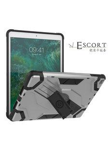 Ntech Ntech Escort Armor Hoesje Apple iPad 9.7 inch (2018-2017) - Zilver