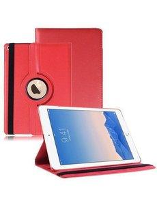 iPad Air 2 hoesje Multi-stand Case 360 graden draaibare Beschermhoes rood