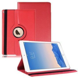 iPad Air 2 hoesje Cover Multi-stand Case 360 graden draaibare Beschermhoes rood