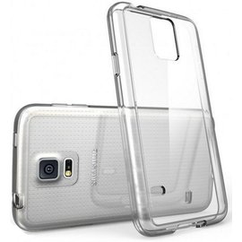 Merkloos Samsung Galaxy S5 Ultra 0,3mm Siliconen Gel TPU Hoesje/ Case/ Cover Transparant Naked Skin