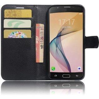 GSM- hoesje Book Case Hoesje Samsung Galaxy A5 (2017) - Zwart