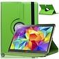 Merkloos Samsung Galaxy Tab S 10.5 inch T800 / T805 Tablet Hoes Cover 360 graden draaibare Case Beschermhoes Groen