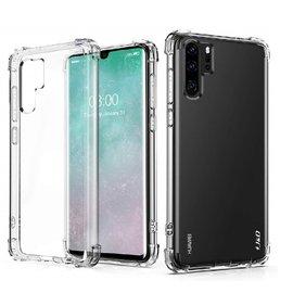 Ntech Ntech Huawei P30 Pro Transparent Anti Burst Hoesje Shock Proof TPU Case