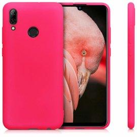 Ntech Ntech Huawei P Smart 2019 Roze TPU Back Cover Hoesje