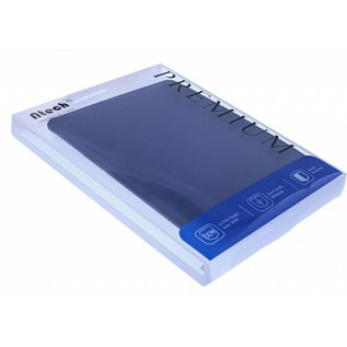 "Ntech Ntech Samsung Galaxy Tab A 10.1"" SM T510 / T515 2019 Tablet Hoesje met 360° draaistand - Donker Blauw"