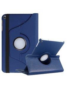 Ntech Ntech Samsung Galaxy Tab A 10.1 (2019) draaibare Hoes - Donker Blauw