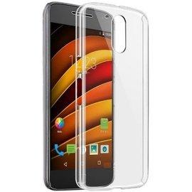 perlycase Motorola Moto G4 Plus Smartphone hoesje Silicone Case Transparant