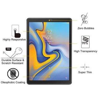 "Ntech Ntech Samsung Galaxy Tab A 10.5"" SM T590 / T595 Screen Protector 0.3mm 9H HD clarity Hardness Tempered Glass"