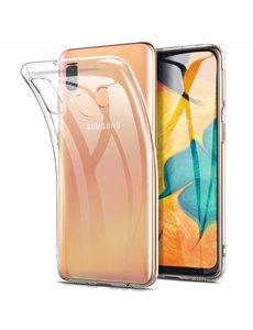Ntech Ntech Samsung Galaxy A60 Hard Back Hoesje - Transparant