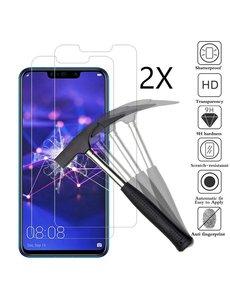 Ntech Ntech 2 Stuks Screenprotector Tempered Glass Glazen - Huawei Mate 20 Lite