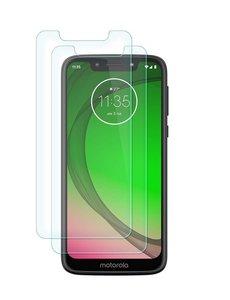 Ntech Ntech 2 Stuks Screenprotector Tempered Glass Glazen - Motorola Moto G7 Play