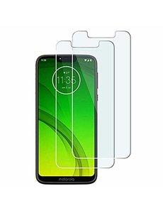 Ntech Ntech 2 Stuks Screenprotector Tempered Glass Glazen - Motorola Moto G7 Power