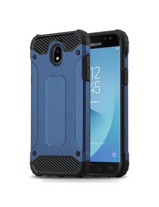 Ntech Ntech Samsung Galaxy J3 2017 Hybride Armor Hoesje - Blauw