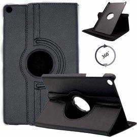 Ntech Ntech Samsung Galaxy Tab S5e SM-T720/T725 Draaibaar Hoesje 360 Rotating Multi stand Case - Zwart