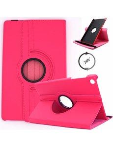 Ntech Samsung Galaxy Tab S5e Draaibare Hoes Ntech - Roze/Pink
