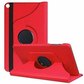 Ntech Ntech Samsung Galaxy Tab S5e SM-T720/T725 Draaibaar Hoesje 360 Rotating Multi stand Case - Rood
