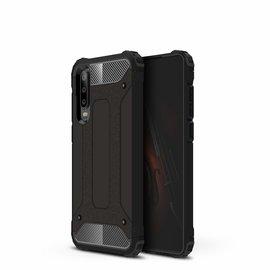 Ntech Ntech Huawei P30 Dual layer Armor Hoesje - Zwart