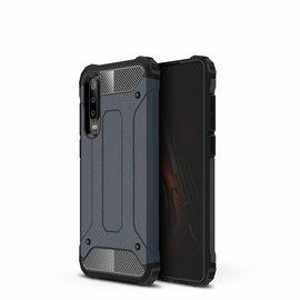 Ntech Ntech Huawei P30 Dual layer Armor Hoesje - Blauw