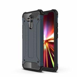 Ntech Ntech Huawei Mate 20 Lite Dual layer Rugged Armor hoesje /  Hard PC & TPU Hybrid case - Blauw