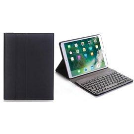 Ntech Ntech Zwart Magnetically Detachable / Wireless Bluetooth Keyboard hoesje voor Apple iPad Air 2019/iPad Pro 10.5