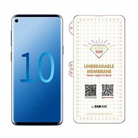 Ntech Ntech Samsung Galaxy S10 Diamond Film Folie Screen protector Full-screen | Fingerprint Unlocking  Transparant/Clear