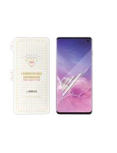 Ntech Ntech Samsung Galaxy S10+ Plus Diamond Film Folie Screenprotector Full-screen | Fingerprint Unlocking Transparant/Clear