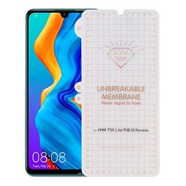 Ntech Ntech Huawei P30 Lite Diamond Film Folio Screen protector Full-screen /  Transparent / Clear
