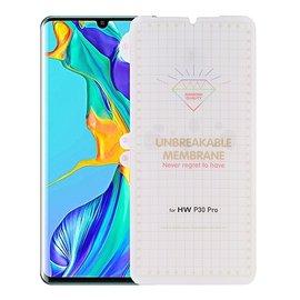 Ntech Ntech Huawei P30 Pro Diamond Film Folie Screen protector Full-screen | Fingerprint Unlocking  Transparant/Clear
