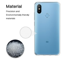 Ntech Ntech Xiaomi Mi A2 Transparant Hoesje / Crystal Clear TPU Case