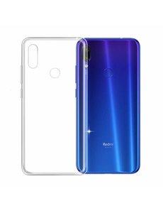 Ntech Ntech Xiaomi Redmi Note 7 Transparant Hoesje / Crystal Clear TPU Case