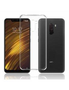 Ntech Ntech Xiaomi Pocophone F1 Transparant Hoesje / Crystal Clear TPU Case