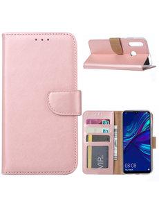 Ntech Ntech Huawei P Smart Plus (2019) Portemonnee Hoesje / Book Case - Rose Goud