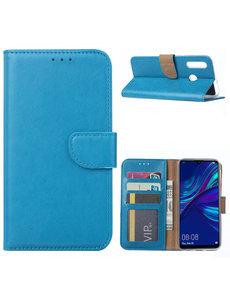 Ntech Ntech Huawei P Smart Plus (2019) Portemonnee Hoesje / Book Case - Turquoise