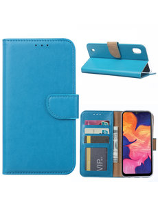 Ntech Ntech Samsung Galaxy A10 Portemonnee Hoesje / Book Case - Turquoise