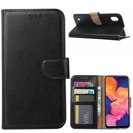 Ntech Ntech Samsung Galaxy A10 Portemonnee Hoesje / Book Case - Zwart