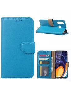 Ntech Ntech Samsung Galaxy A60 Portemonnee Hoesje / Book Case - Turquoise