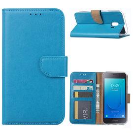 Ntech Ntech Samsung Galaxy J2 Core Portemonnee Hoesje / Book Case -  Turquoise