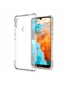 Ntech Ntech Huawei Y6 (2019) Transparant Anti Shock Back hoesje