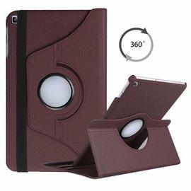 """Ntech Ntech Samsung Galaxy Tab A 10.1"""" SM T510 / T515 2019 Tablet Hoesje met 360° draaistand - Bruin"""