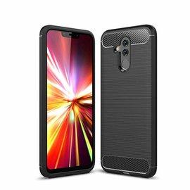 Ntech Ntech Soft Brushed / Geborsteld Hoesje voor Huawei Mate 20 Lite -  Matt Zwart