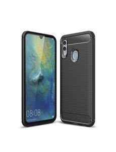 Ntech Ntech Soft Brushed TPU Hoesje voor Huawei P Smart 2019 - Matt Zwart