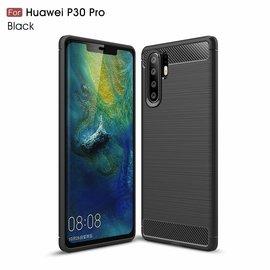 Ntech Ntech Soft Brushed / Geborsteld Hoesje voor Huawei P30 Pro - Matt Zwart