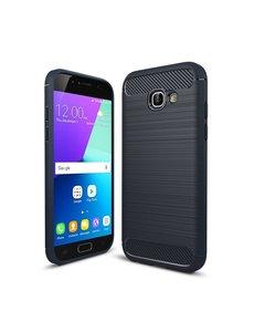 Ntech Ntech Soft Brushed TPU Hoesje voor Samsung Galaxy A5 2017 - Matt Zwart