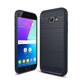 Ntech Ntech Soft Brushed / Geborsteld Hoesje voor Samsung Galaxy A5 2017 - Matt Zwart