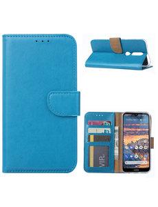 Ntech Ntech Nokia 4.2 Portemonnee Hoesje / Book Case - Turquoise