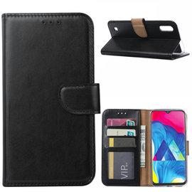 Ntech Ntech Samsung Galaxy M10 Portemonnee Hoesje / Book Case - Zwart